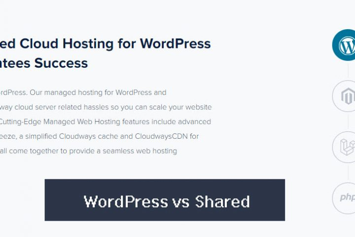 WordPress vs Shared Hosting